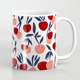 Cherry Collection – Navy & Red Coffee Mug