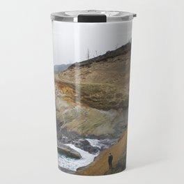 Cliffs of Cape Kiwanda Travel Mug