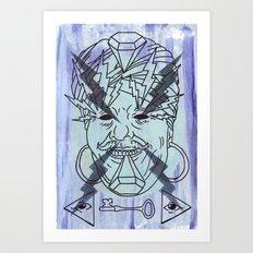 Spangola and Sons. Art Print