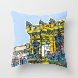 La Boca, Buenos Aires Throw Pillow