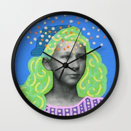 The Overthinker Wall Clock