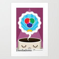 Dreamigners   Color Art Print