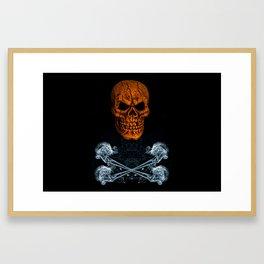 Skull And Crossbones 1 Framed Art Print