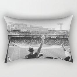 Red Sox Win Rectangular Pillow