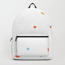 stars pattern Backpack