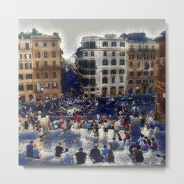The Spanish Steps 4138 - Rome, Italy Metal Print