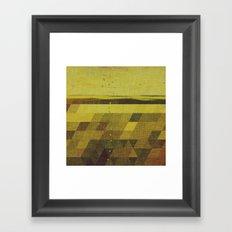 Solidago Meadow Framed Art Print