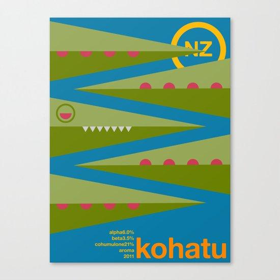 kohatu single hop Canvas Print