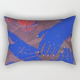 floating love Rectangular Pillow
