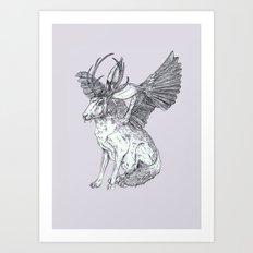 The Wolpertinger Art Print