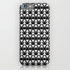 Black & White Triangles iPhone 6s Slim Case