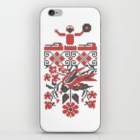 edm iPhone & iPod Skins featuring Ethno DJ by Sitchko Igor