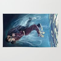 underwater Area & Throw Rugs featuring Underwater by MGNemesi