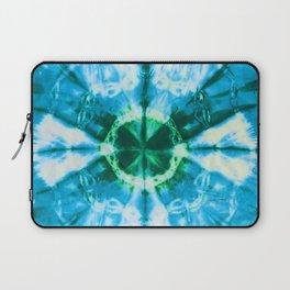 Boho Blue Bloom Laptop Sleeve