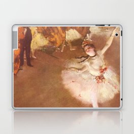 The Star Dancer On Stage By Edgar Degas   Reproduction   Famous French Painter Laptop & iPad Skin
