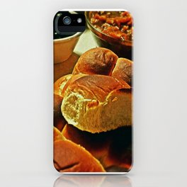 Thanksgiving at Dad's iPhone Case