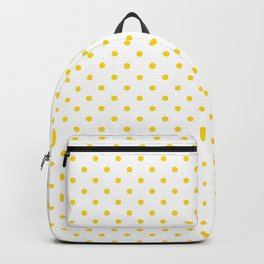 Dots (Gold/White) Backpack