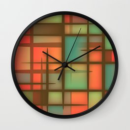 Abstract Background 25 Wall Clock
