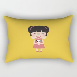 Hello how are you (Yellow Tales Series) Rectangular Pillow