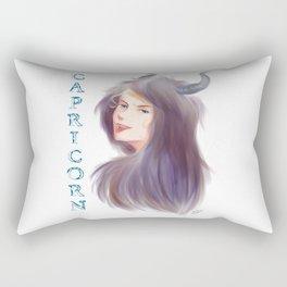 Capricorn Sign - Zodiac series by OccultArt Rectangular Pillow