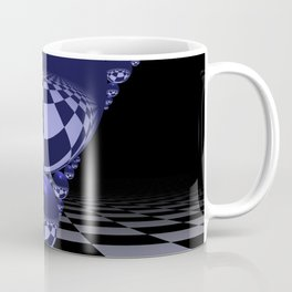 Apollonian gasket - blue Coffee Mug