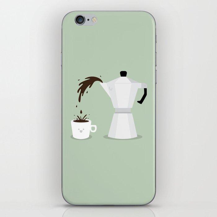 Espresso Time! iPhone Skin