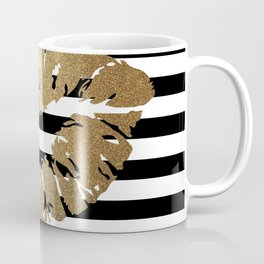Gold Lips 2 Coffee Mug