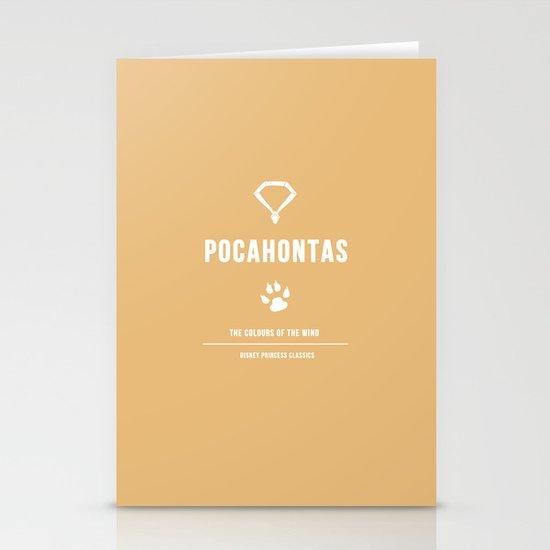 Disney Princesses: Pocahontas Minimalist Stationery Cards