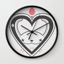 HEART ♥ DROP Wall Clock