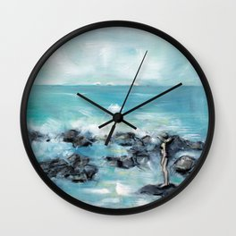 Bikini Babe! Wall Clock