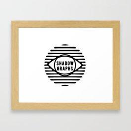 Shadowgraphs Framed Art Print