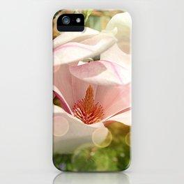 Magical Magnolia iPhone Case