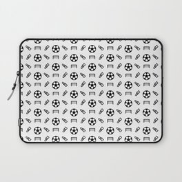 Football and Soccer Pattern Laptop Sleeve