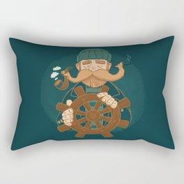 Oh Captain Rectangular Pillow