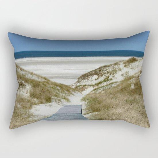 going into life Rectangular Pillow