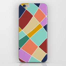 Abstract Retro Painting iPhone Skin