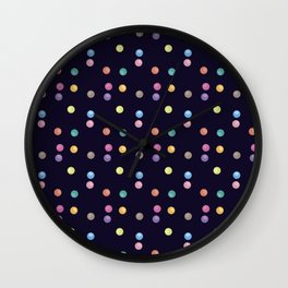 Bubble pattern 1 Wall Clock
