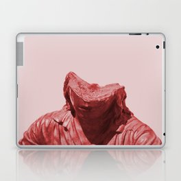 Shy red girl Laptop & iPad Skin