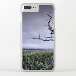 Old and Lonely Clear iPhone Case
