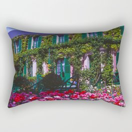 Claude Monet's House at Giverny Rectangular Pillow