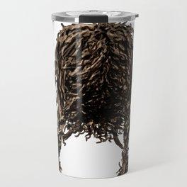 Messy dry curly hair 4 Travel Mug
