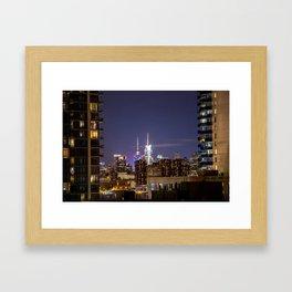 New York City Landscape Framed Art Print