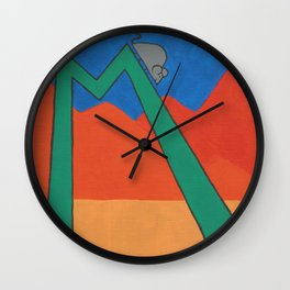 M is for Mouse Wall Clock