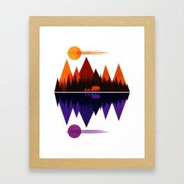 Bear & Cubs #5 Framed Art Print