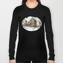 Victorian House in The Avenues Long Sleeve T-shirt