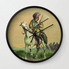 Buffalo Bill Cody - The Scout Wall Clock