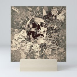 The Final Curtain (Sepia) Mini Art Print