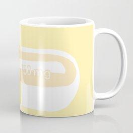 Happy Pill Yellow Coffee Mug