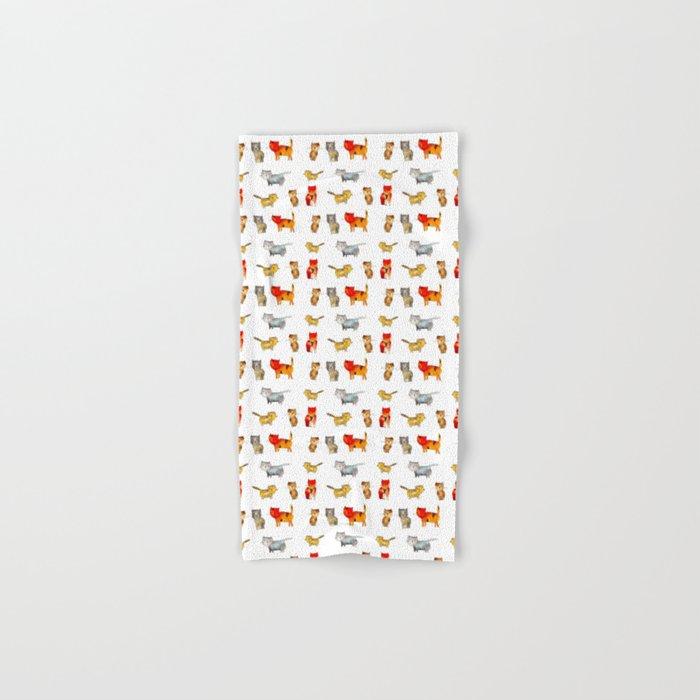 Kitties Hand & Bath Towel