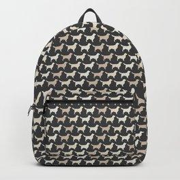 Golden RetrieverSilhouette(s) Backpack